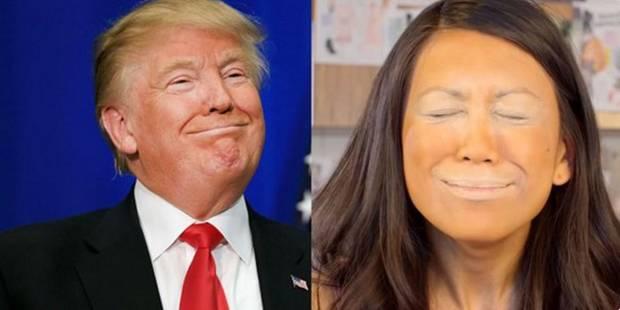 """Rendez sa beauté originale à votre visage avec le """"Trumping"""" (VIDEO) - La DH"""