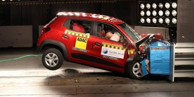 La Kwid à 3.500€: zéro pointé aux crash tests! - La DH