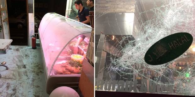Exclusif: deux snacks syriens attaqués à Anderlecht ! (PHOTOS) - La DH