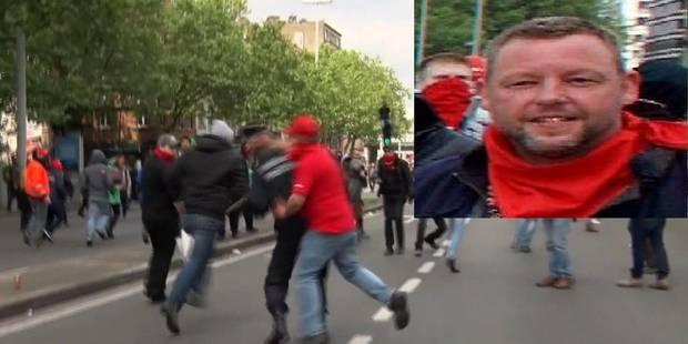 Le manifestant qui a frappé le commissaire Vandersmissen s'est rendu à la police - La DH