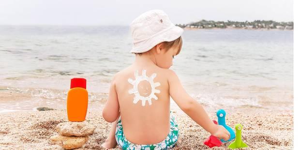 Cr�mes solaires pour enfants: les fabricants vous mentent