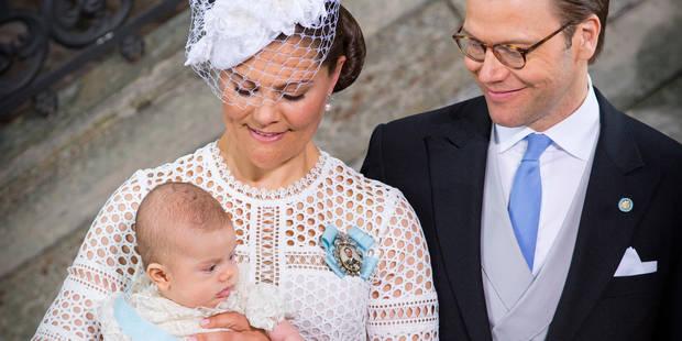 Baptême d'Oscar de Suède - La DH