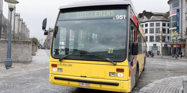 Un piéton renversé par un bus TEC dans le centre de Liège - La DH