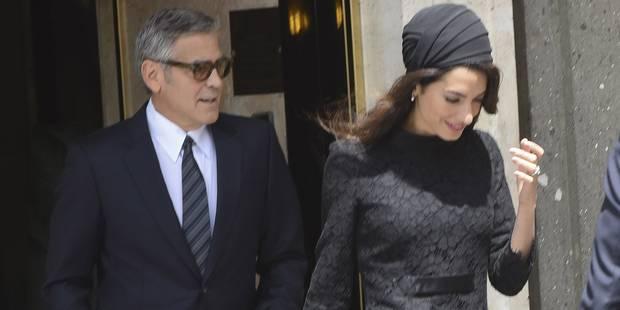 Amal Clooney: des airs de Jackie Kennedy - La DH