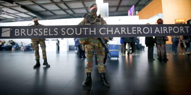 Les policiers de l'aéroport de Charleroi mèneront des actions de zèle mercredi à 11h00 - La DH