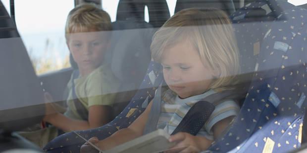 Vacances: comment occuper les enfants en voiture ? - La DH