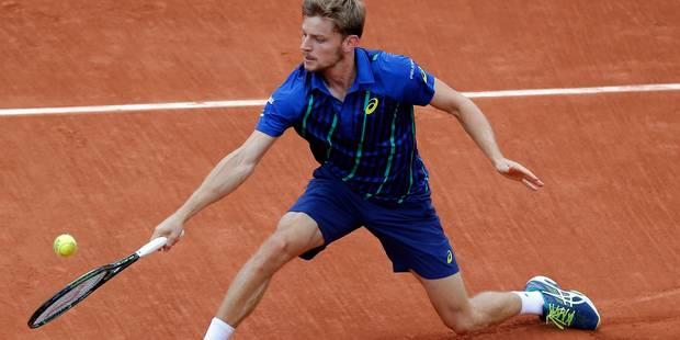 Roland Garros: Goffin, comme à la maison sur le court numéro 1 ! (VIDEO) - La DH