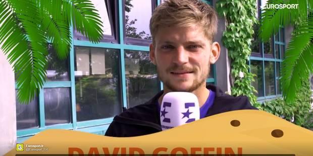 Si David Goffin échouait sur une île déserte... (VIDEO) - La DH