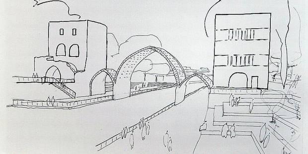 Voici à quoi devrait ressembler le nouveau Pont des Trous de Tournai - La DH