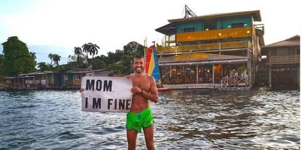 #momimfine : un globe-trotter belge trouve le truc pour rassurer sa mère - La DH