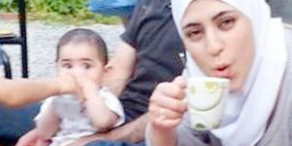 """Son mari l'a égorgée et a presque décapité sa petite fille de 13 mois: """"Noura était un rayon de soleil, toujours souriante"""""""