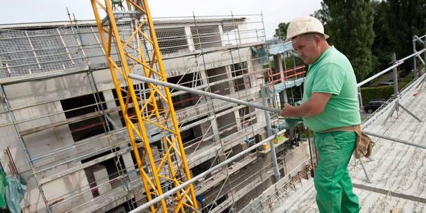 Plus de 20.000 emplois perdus dans la construction depuis 2012 - La DH