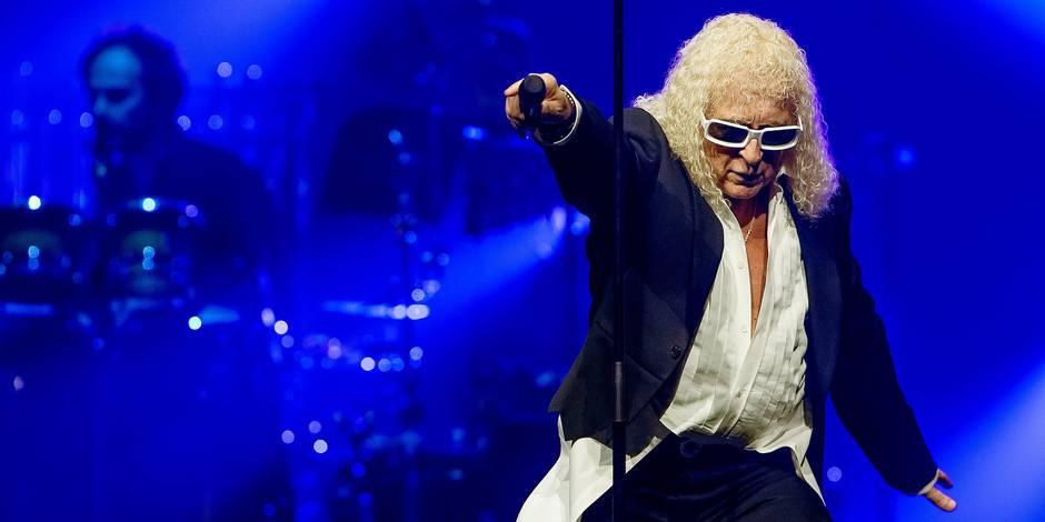Michel Polnareff en concert à l'AccorHotels Arena de Paris