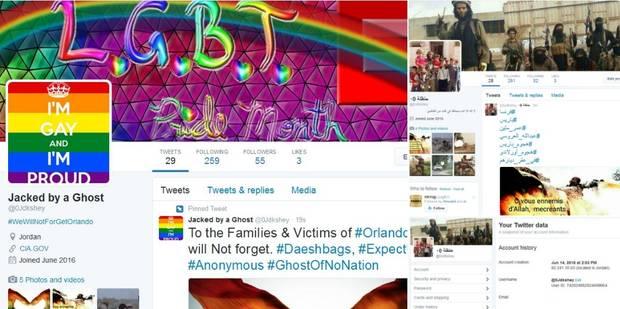 Un hacker met les comptes Twitter de Daech aux couleurs pro-gay - La DH