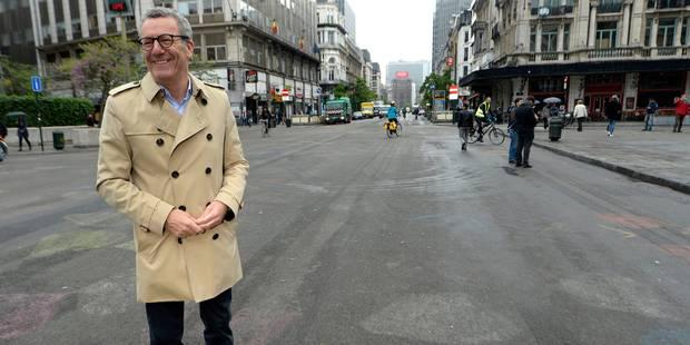 """Yvan Mayeur sur le piétonnier : """"Le périmètre ne changera pas"""" - La DH"""