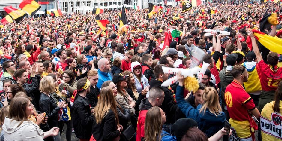 Projets d'attentats pendant Belgique - Irlande? 12 personnes arrêtées cette nuit