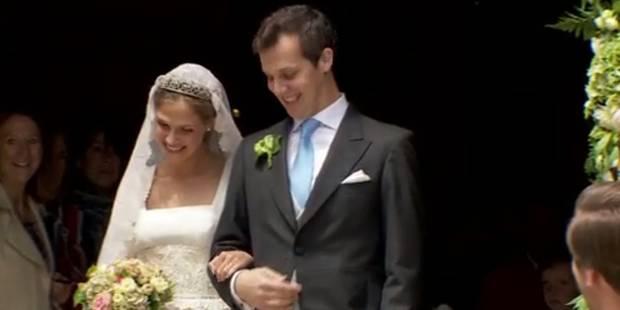 Beloeil: la princesse Alix de Ligne a épousé religieusement Guillaume de Dampierre (PHOTOS + VIDEOS) - La DH
