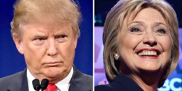 """Trump attaque Clinton et l'accuse d'être une """"menteuse de première classe"""" - La DH"""
