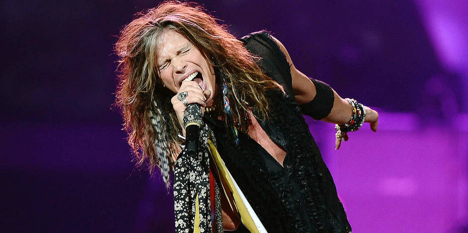 Aerosmith perform at the BB&T Center.