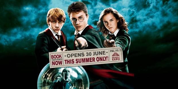 L'exposition Harry Potter ouvre ses porte au Palais 2 (PHOTOS & VIDEO) - La DH