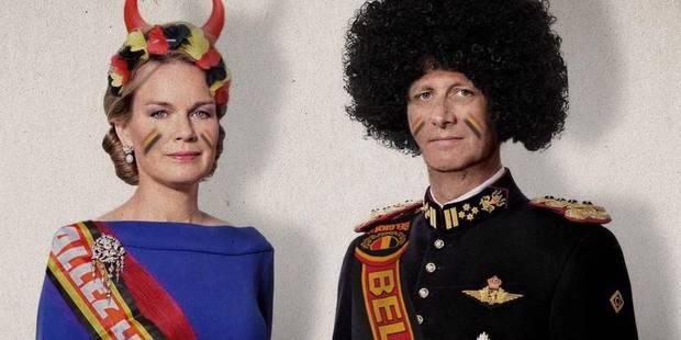 La reine Mathilde et le roi Philippe, supporters endiablés ? - La DH