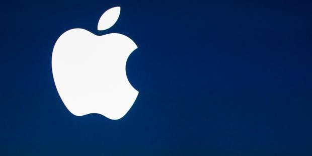Un Américain réclame des milliards à Apple pour plagiat - La DH