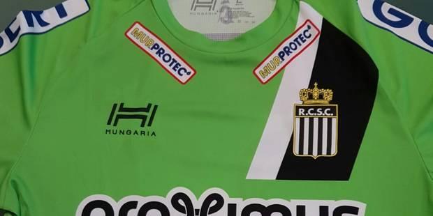 Cette saison, le Sporting de Charleroi jouera... en vert - La DH