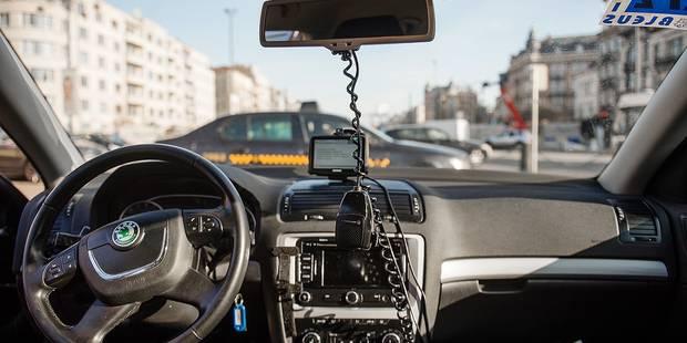 Des lecteurs de carte de crédit dans presque tous les taxis bruxellois - La DH