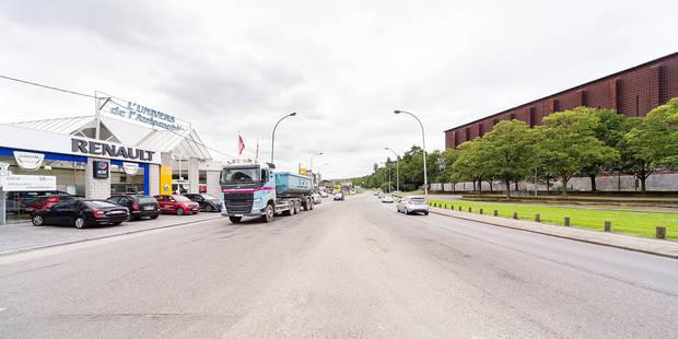 Boulevard dangereux � Li�ge: r�novation en 2018!