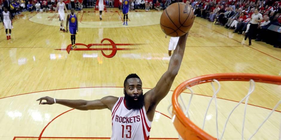 NBA: l'invraisemblable contrat de James Harden à Houston