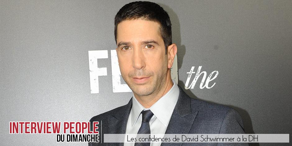 """David Schwimmer: """"Avec mes camarades de friends, il n'y a jamais eu de jalousie ni de traîtrise """""""