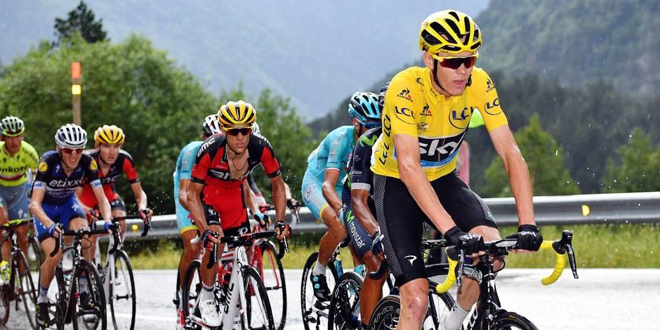 Tour de France: Froome récupère son maillot jaune