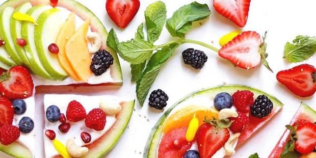 Une pizza faite de fruits, la nouvelle tendance gourmande - La DH