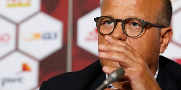 """Bart Verhaeghe: """"Michel Preud'homme n'est pas candidat"""" - La DH"""