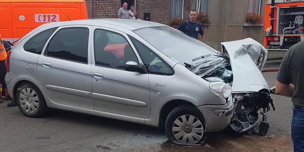 Une automobiliste sérieusement blessée à Gozée