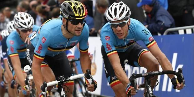 Boonen et Gilbert coéquipiers en 2017 chez Etixx - La DH
