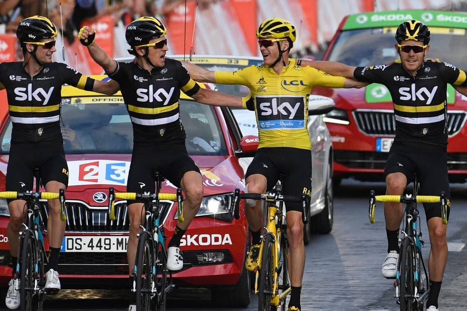 Troisième Tour de France pour Chris Froome