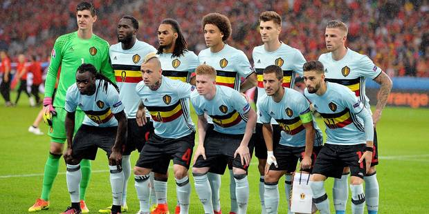 equipe de Belgique FOOTBALL : Belgique vs Pays de Galles - UEFA Euro 2016 - Lille - 01/07/2016 © PanoramiC / PHOTO NEWS PICTURES NOT INCLUDED IN THE CONTRACTS