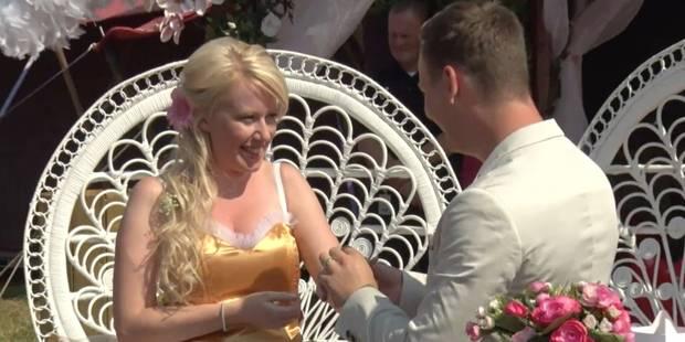 Un couple de Liégeois s'est marié à Tomorrowland (VIDEO) - La DH