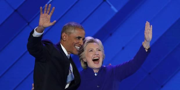 Barack Obama adoube Hillary Clinton et dénonce Donald Trump - La DH