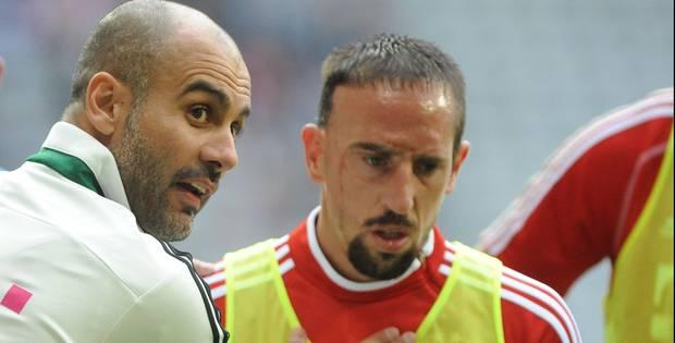 Ribéry règle ses comptes avec Guardiola - La DH