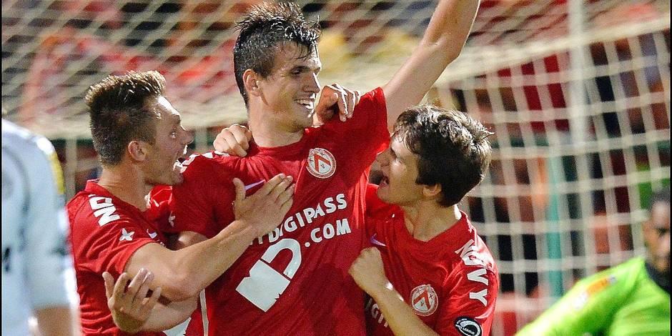 ASS.HLN. : KV Kortrijk vs Sporting Lokeren - Jupiler League