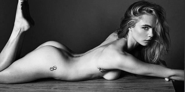 Cara Delevingne entièrement nue pour Esquire ! (PHOTOS)