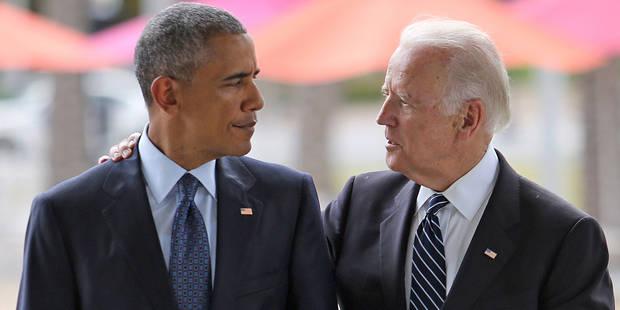 Quand Joe Biden souhaite un bon anniversaire à Barack Obama - La DH