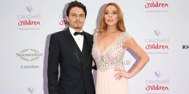 Lindsay Lohan violentée par son fiancé - La DH