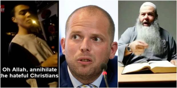 Le jeune homme qui appelle au meurtre de chrétiens à Verviers est le fils de l'imam prêcheur de haine - La DH