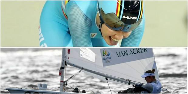 Jolien D'Hoore seule 2e de l'omnium après la troisième épreuve, course reportée pour Van Acker - La DH