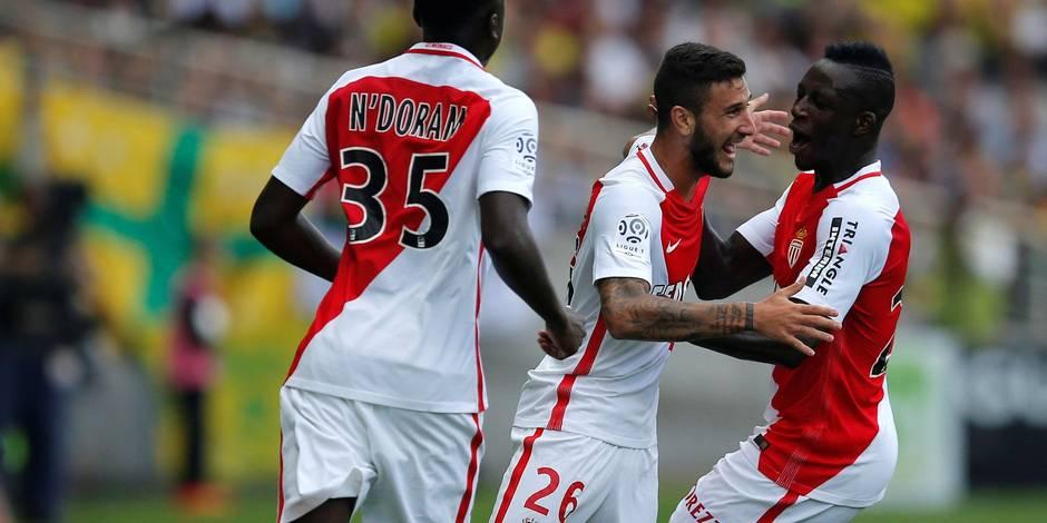 Ligue 1: pari réussi pour Monaco, Toulouse étrille (encore) Bordeaux