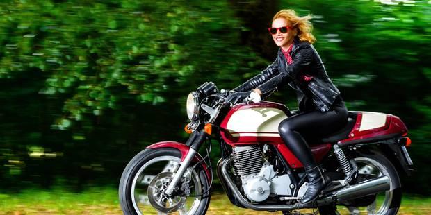 Motos: femme au guidon, la sécurité est dans le bon - La DH