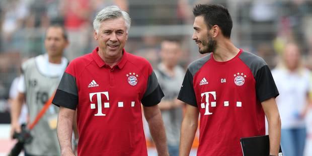 Bayern: Carlo Ancelotti assist� par son fils